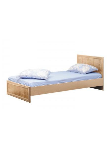 Кровать 06.258 Волжанка с настилом (дуб линдберг)